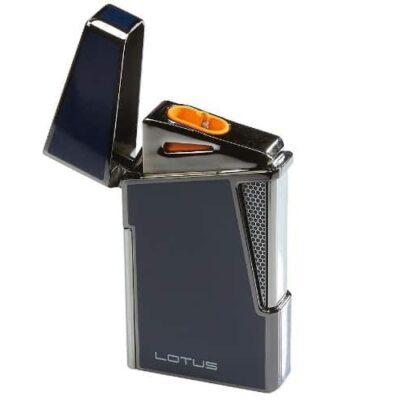 Lotus 48 Apollo Blue Lacquer Cigar Lighter