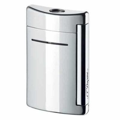 S.T. Dupont Minijet Chrome Grey Torch Flame Lighter